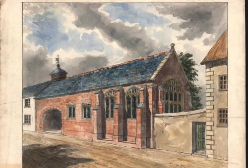 Wynard's Chapel, c1815, Exeter