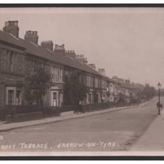Croft Terrace, Jarrow On Tyne