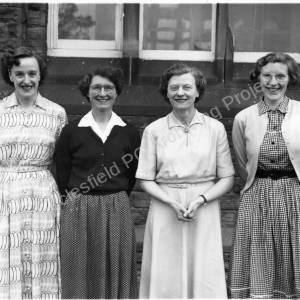 Burncross Infant School Staff 1950s