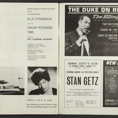 Duke Ellington Orchestra British Tour – February 1964 009