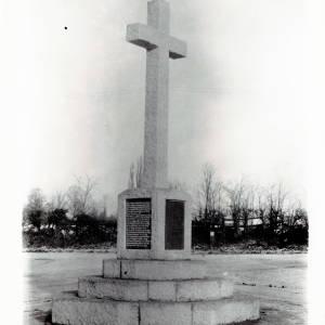 Tupsley Memorial Cross, Hereford