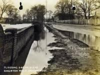 Kingston Road, Raynes Park: Flooding