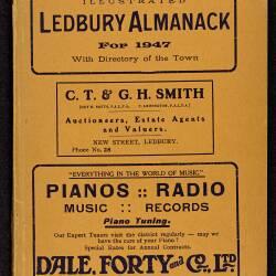 Tilley's Ledbury Almanack 1947