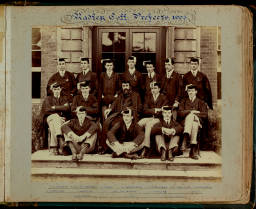 Photograph Album (1898-1905)-028 Warden & Prefects 1903.jpg