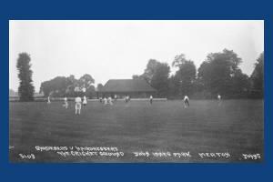 John Innes Park, Merton Park: The Cricket Grounds