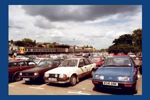 Wimbledon Station, Car park