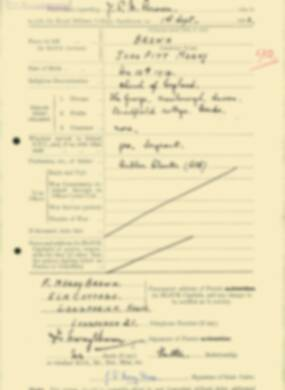 RMC Form 18A Personal Detail Sheets Feb & Sept 1933 Intake - page 163