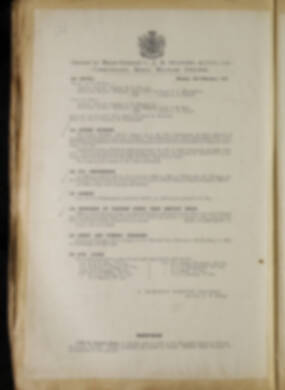Routine Orders - June 1918 - April 1919 - Page 236