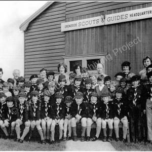 Grenoside Scouts Celabrating 50th Anniversary 1973
