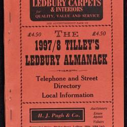 Tilley's Ledbury Almanack 1997-98