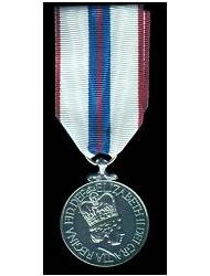 Queen Elizabeth II Silver Jubilee Medal
