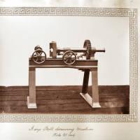 A size bolt screwing machine