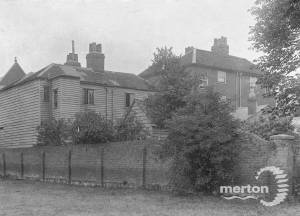 London House, London Road, Mitcham:  Rear view, adjoining T Francis' premises