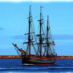 'Bounty' visits the Tyne