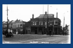 Kingston Road: Grove Hotel, South Wimbledon