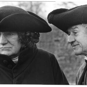 121 - Trevor Howard & Cyril Cusack in costume