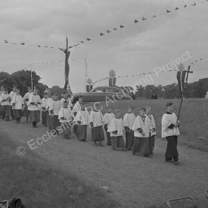 Glass Slide Images of Thorncliffe Festival of Britain Week 15th - 21st July 1951.
