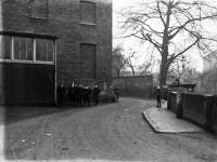 Wandle Bank, Merton Corn Mill, rear view, Colliers Wood ( view from Denison Road to South Road. )