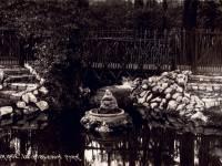 Rustic bridge, Wimbledon Park