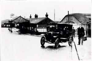 Cab at Wimbledon Station