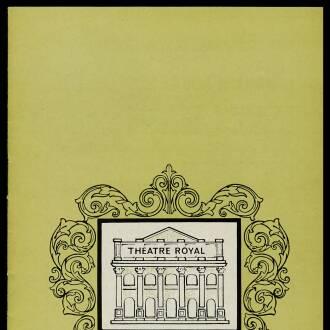 Theatre Royal, Nottingham, April 1965