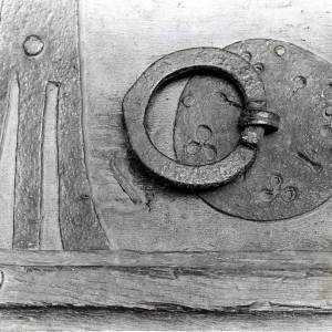 Clehonger, church door ring, 1928