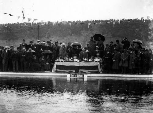 Opening of the North Foreshore Swimming Pool