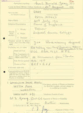 RMC Form 18A Personal Detail Sheets Aug 1935 Intake - page 87