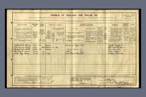 Nestling AJ 1911 Census Portsmouth