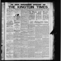 The Kington Times 1915