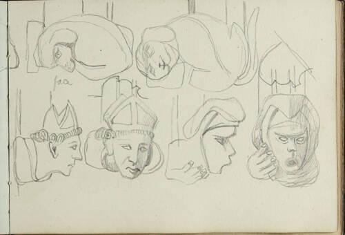 Page 43 of sketchbook 2