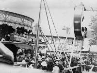 Mitcham Fair: Carousels and swingboats