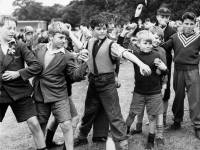 Morden Co-op Fete: Youngsters at the coconut shy