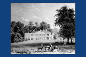 Charborough Park Mansion, Dorset, seat of John SWS Earle Drax, MP.