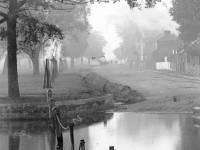 Three Kings Pond, Mitcham: Pictured in autumn