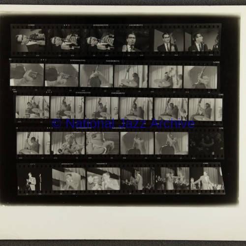 Butlins Jazz Weekend 1956 Contact sheet 001