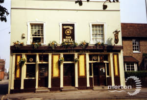 The  Bull, 32 Church Road, Mitcham. ( Young & Co )