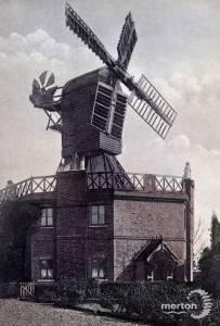 The windmill, Wimbledon Common