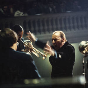 072 - Brass players with Stan Kenton conducting