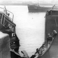 Damaged Gates in Dry Dock