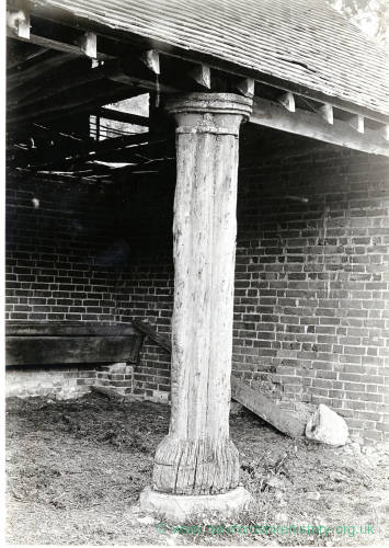 Treville Whitfield, Pillar from Market Hall