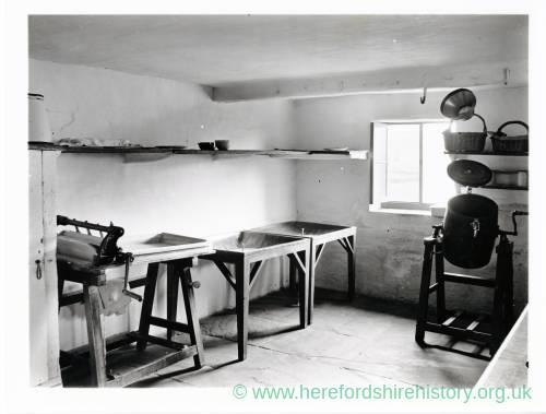 Woofferton Court, Herefordshire, Dairy, 1935