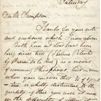 Puddling letter