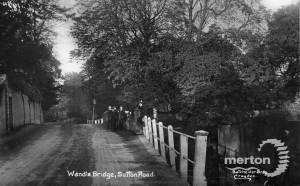 Wandle Bridge, Sutton Road, Mitcham