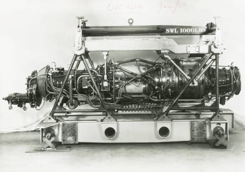 Oryx OR 104 engine: Napier