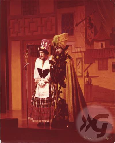 Photograph - Aladdin 1979 - Denny Willis and Billy Riddoch