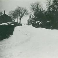 Moss Lane in winter
