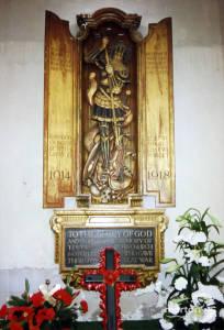 First World War Memorial, Mitcham Parish Church