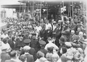 Mitcham Fair opening ceremony
