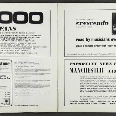 Duke Ellington Orchestra British Tour – February 1967 010